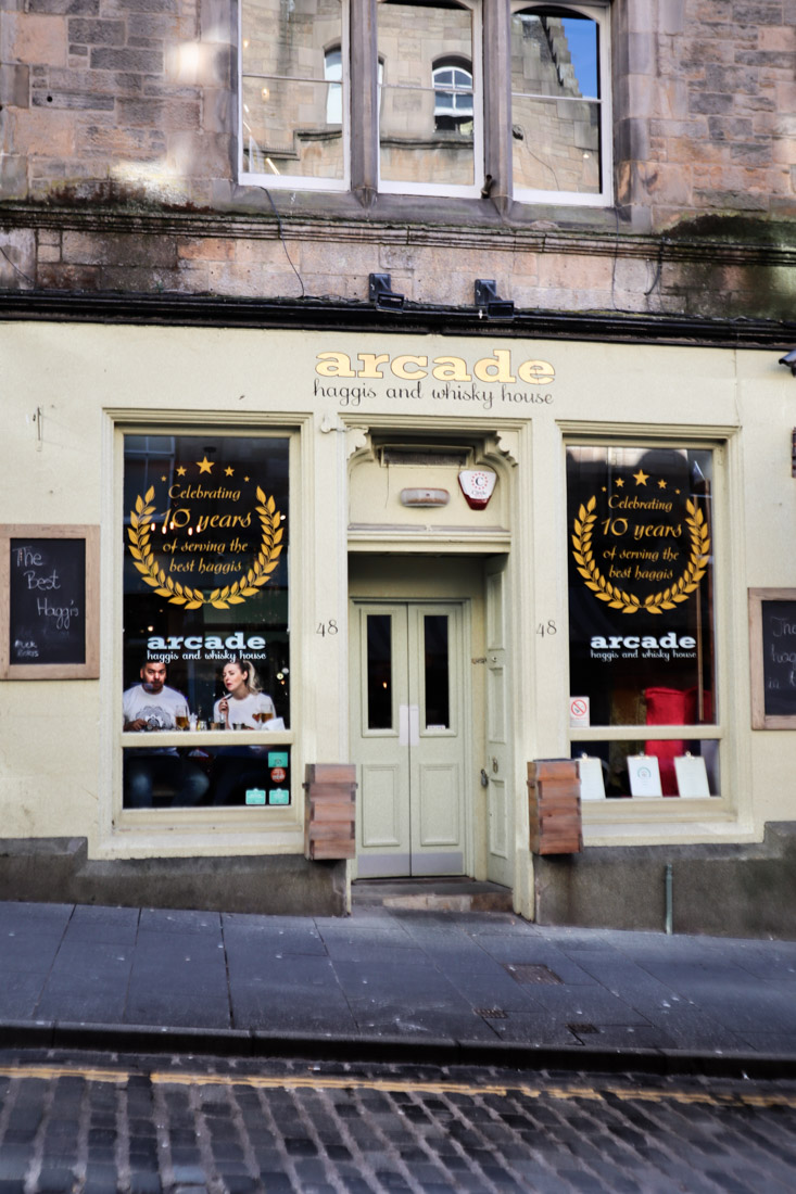 Arcade Cockburn Street Food Edinburgh_