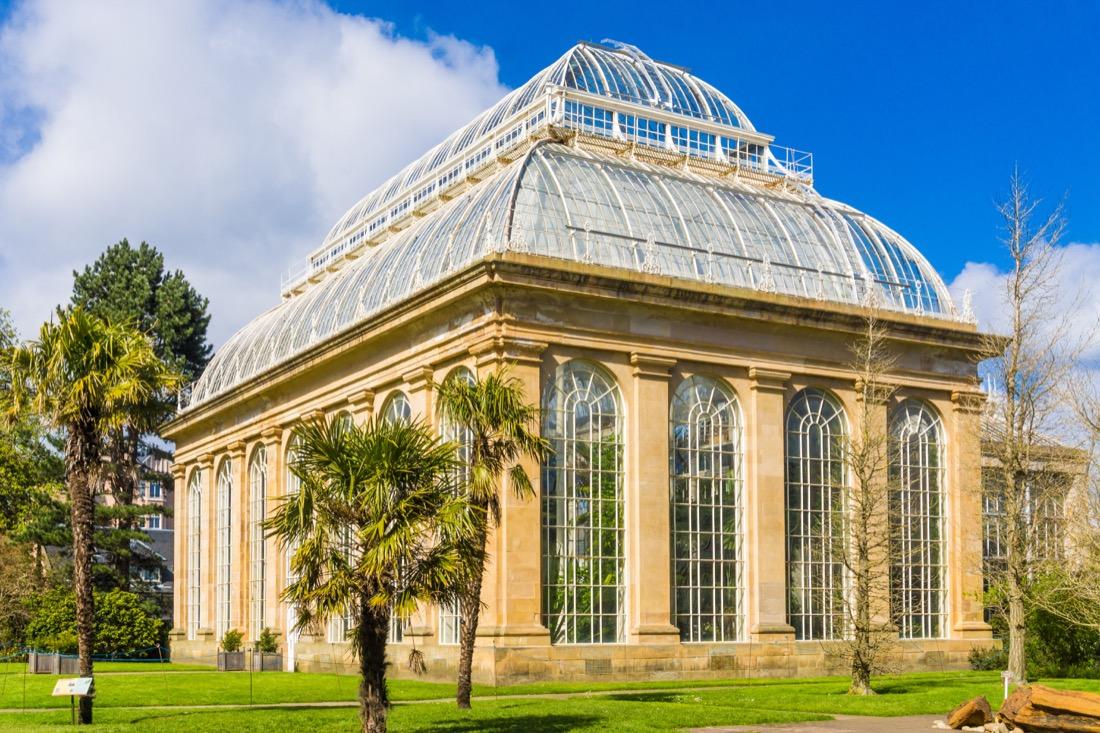 Botanics Garden Park Edinburgh.