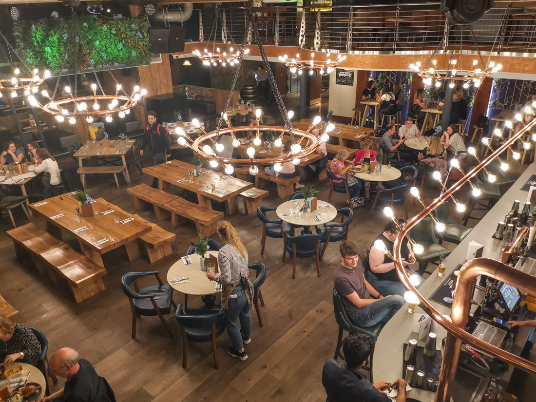 Brewhemia Inside Pub Edinburgh