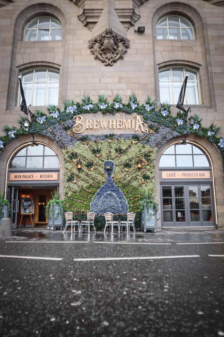 Brewhemia Market Street Edinburgh Pubs