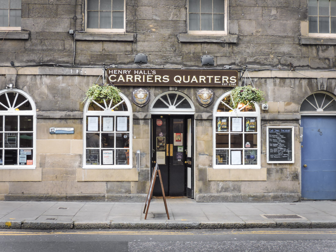Carriers Quarters Pub Leith Edinburgh