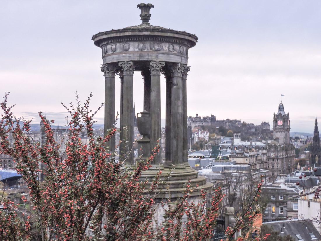 Dugald Stewart Calton Hill Edinburgh