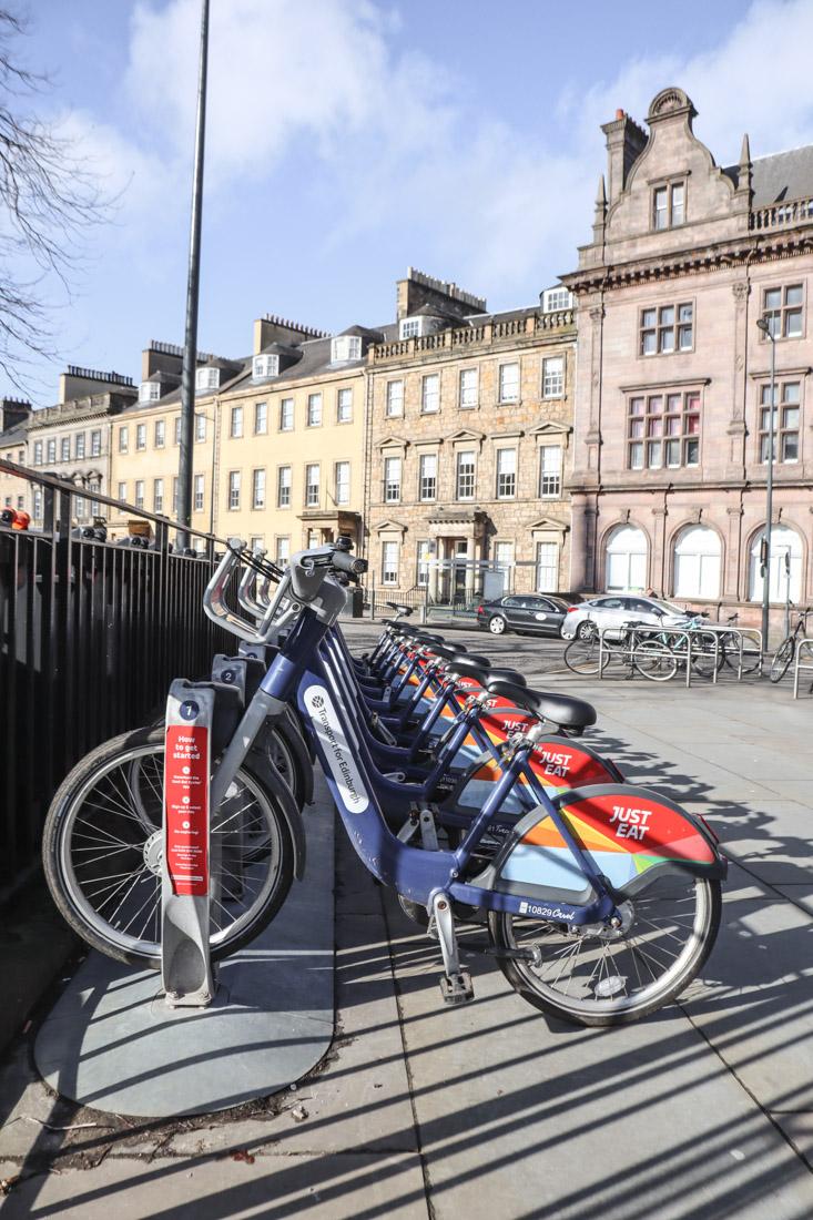 Edinburgh Bikes St Andrews Square_