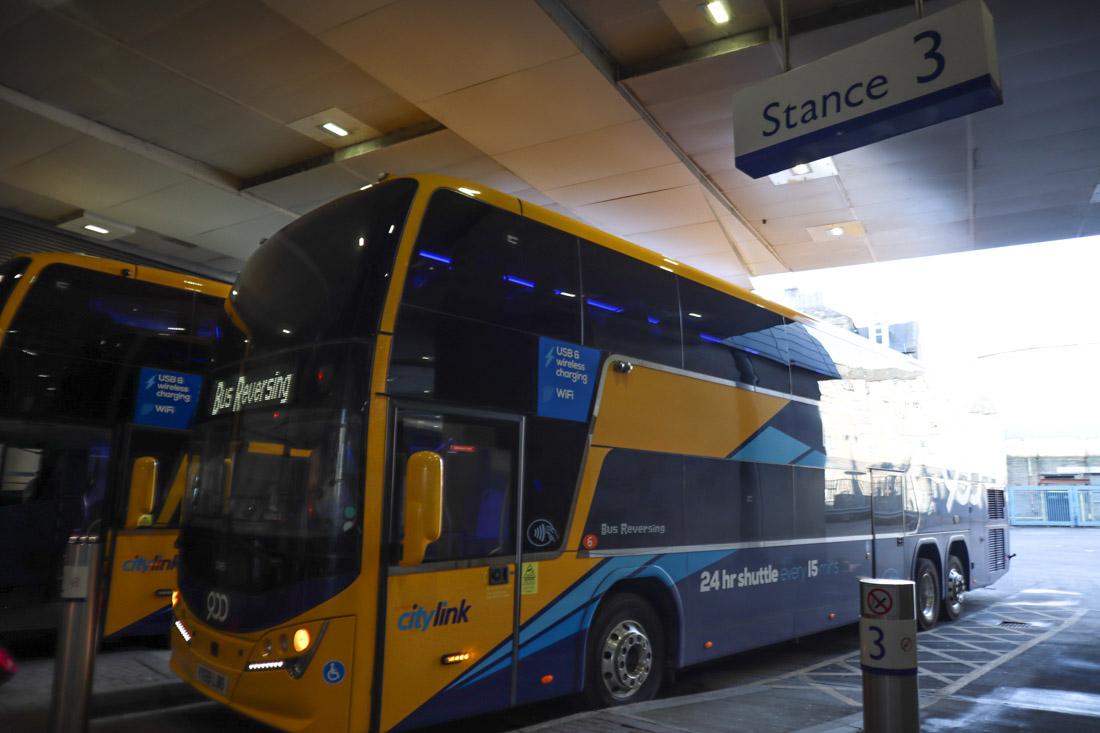 Edinburgh Bus Station Buses