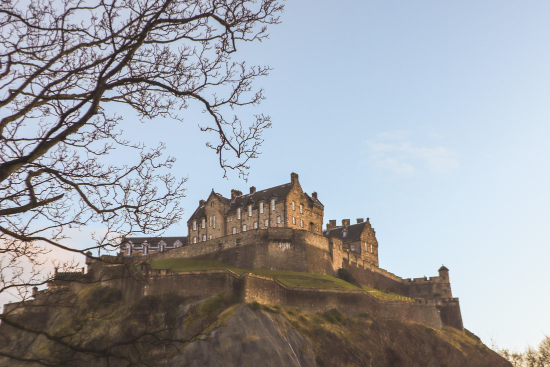 Edinburgh Castle Sunrise or Sunset
