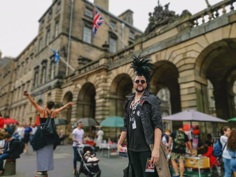 Edinburgh Fringe Festival performer