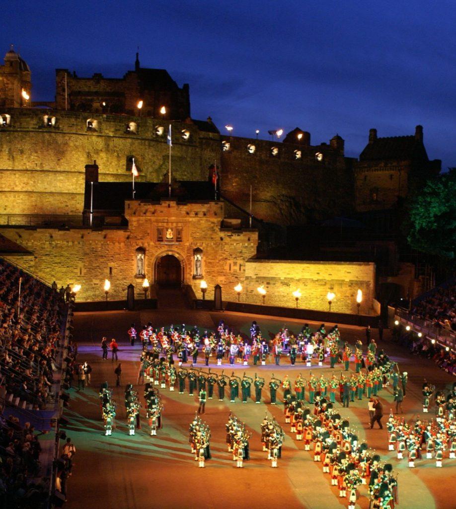 Edinburgh Castle Esplanade Military Tattoo