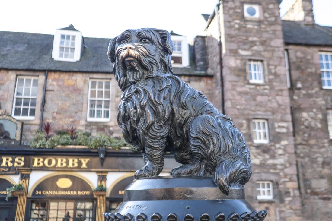 Greyfriars Bobby Statue Edinburgh