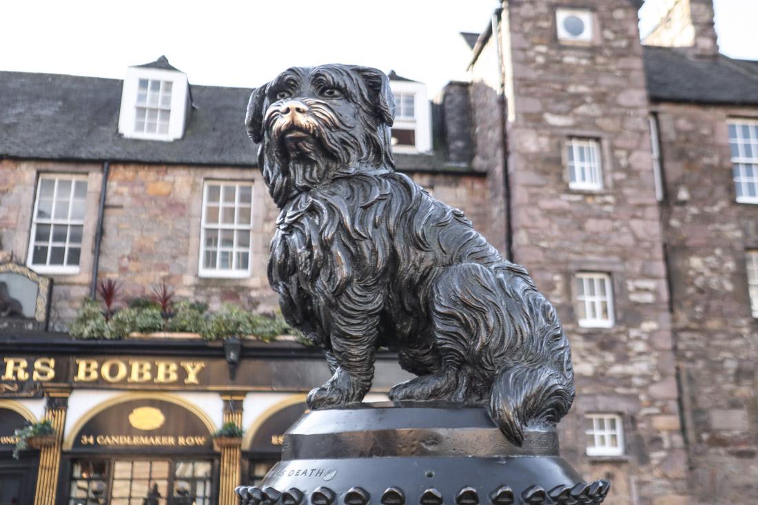Greyfriars Bobby Statue Edinburgh_