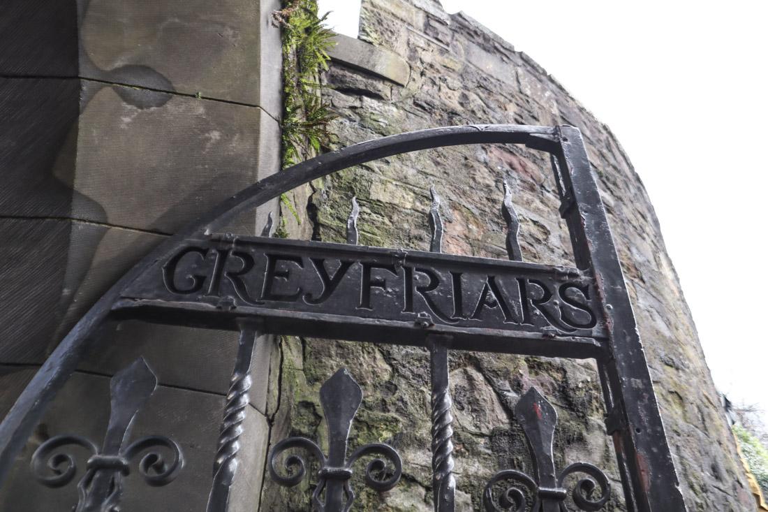 Greyfriars Kirkyard Gate Edinburgh