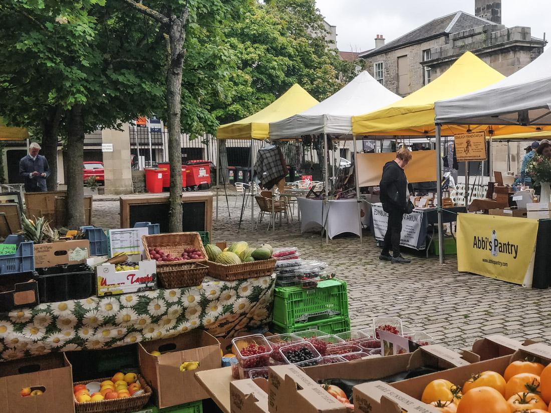 Leith Farmers Market Edinburgh Food Shopping