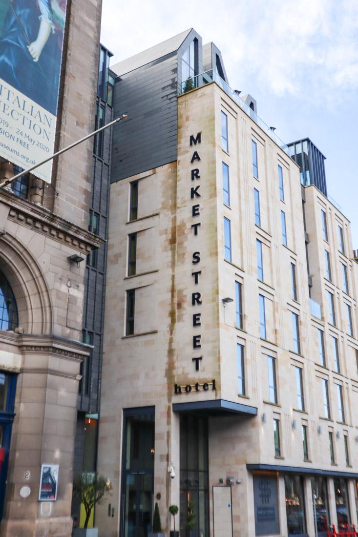 Market Street Hotel Accommodation Edinburgh
