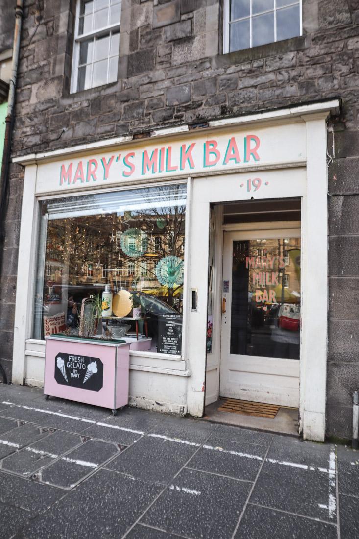 Marys Milk Bar Food Grassmarket Edinburgh