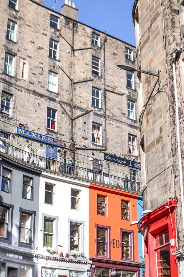 Maxies Victoria Terrace West Bow Food Edinburgh_