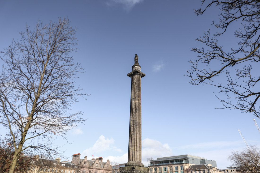 Melville Monument St Andrews Square Edinburgh
