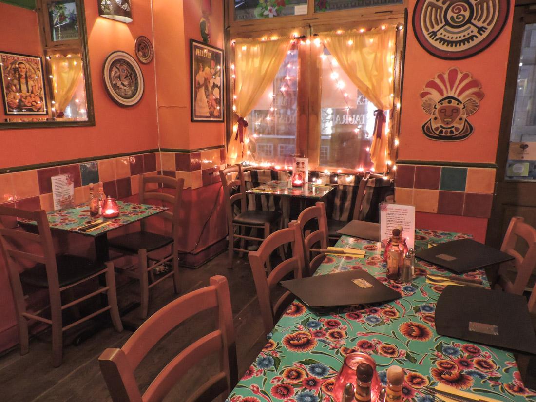 Miros Cantina Mexicana Rose Street Food Edinburgh