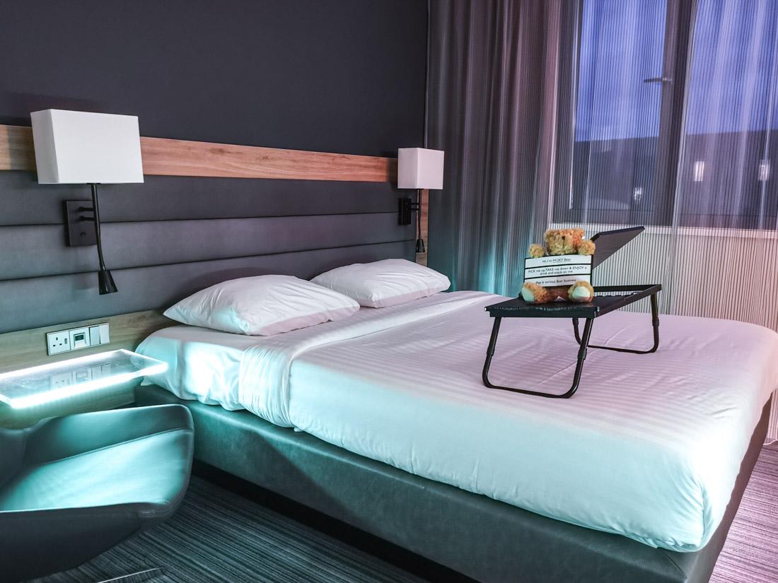 Moxy Hotel Edinburgh Airport Double Room