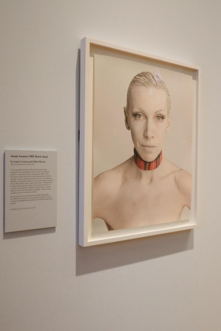 ational Portrait Gallery Museum Annie Lennox Edinburgh