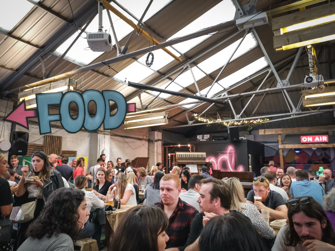 Pitt Street Market Leith Edinburgh Food Pub