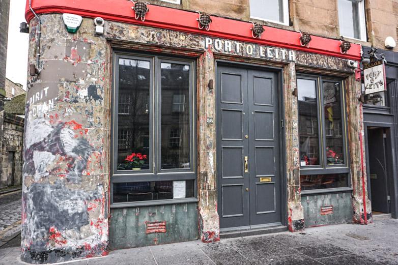 Port O Leith Pub Edinburgh
