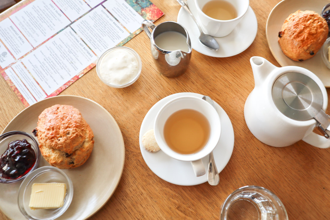 Scottish National Gallery Cafe Menu Food Scones Tea Edinburgh Museum Princes Street
