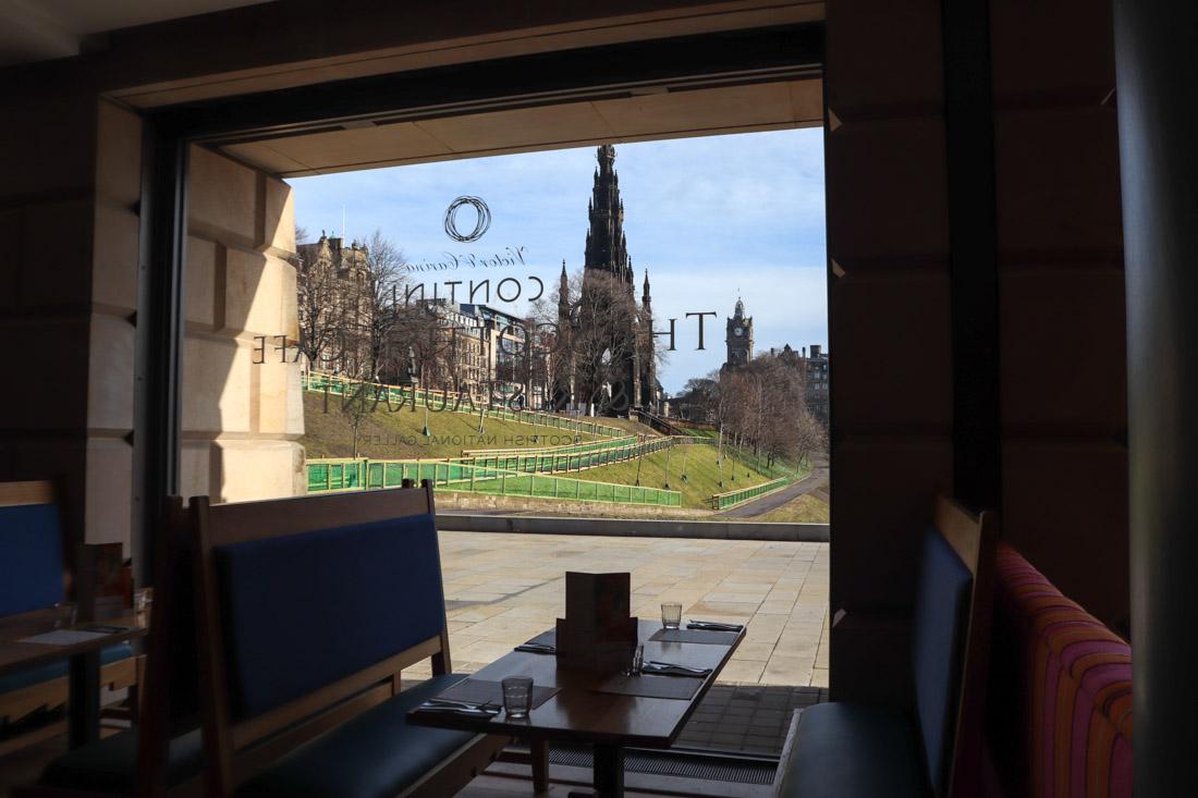 Scottish National Gallery Contini Food Edinburgh Museum Princes Street