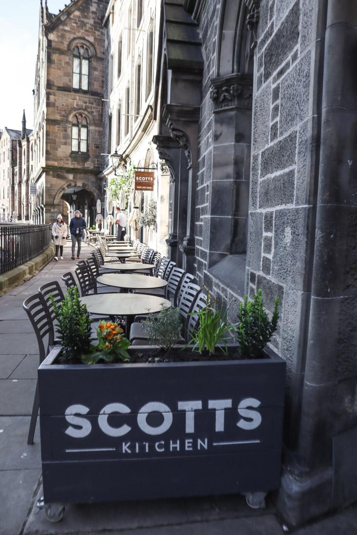 Scotts Kitchen Victoria Terrace Edinburgh Old Town Food_