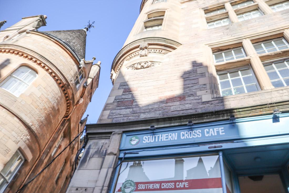 Southern Cross Cafe on Cockburn Street Food Edinburgh_