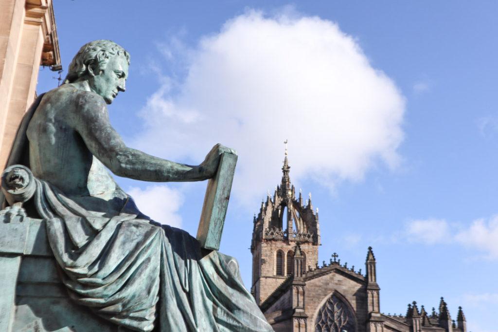 Free things to do in Edinburgh Humes Royal Mile Edinburgh
