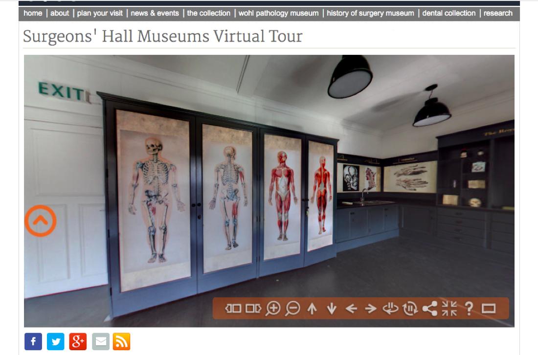 Surgeons Halls Virtual Tour