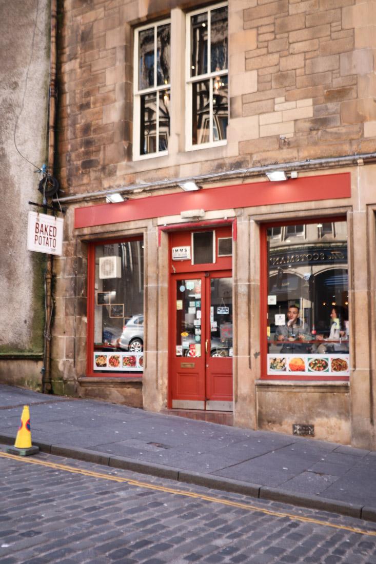 The Baked Potato Shop on Cockburn Street Food Edinburgh_