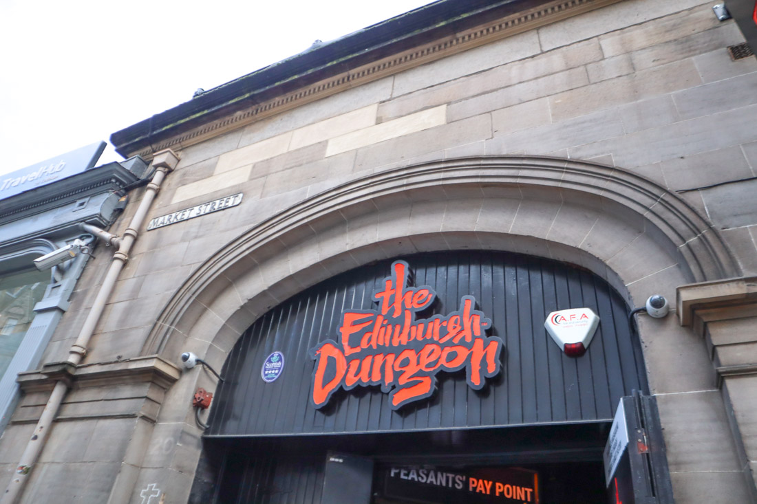 The Edinburgh Dungeons Tour_