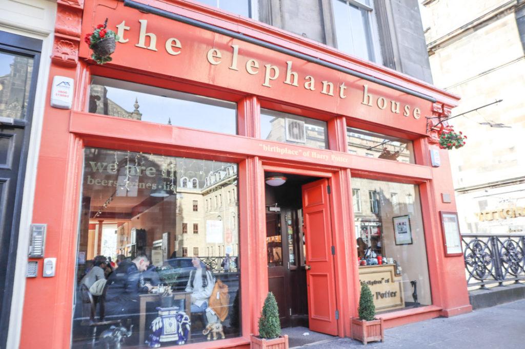 The Elephant House Edinburgh Harry Potter