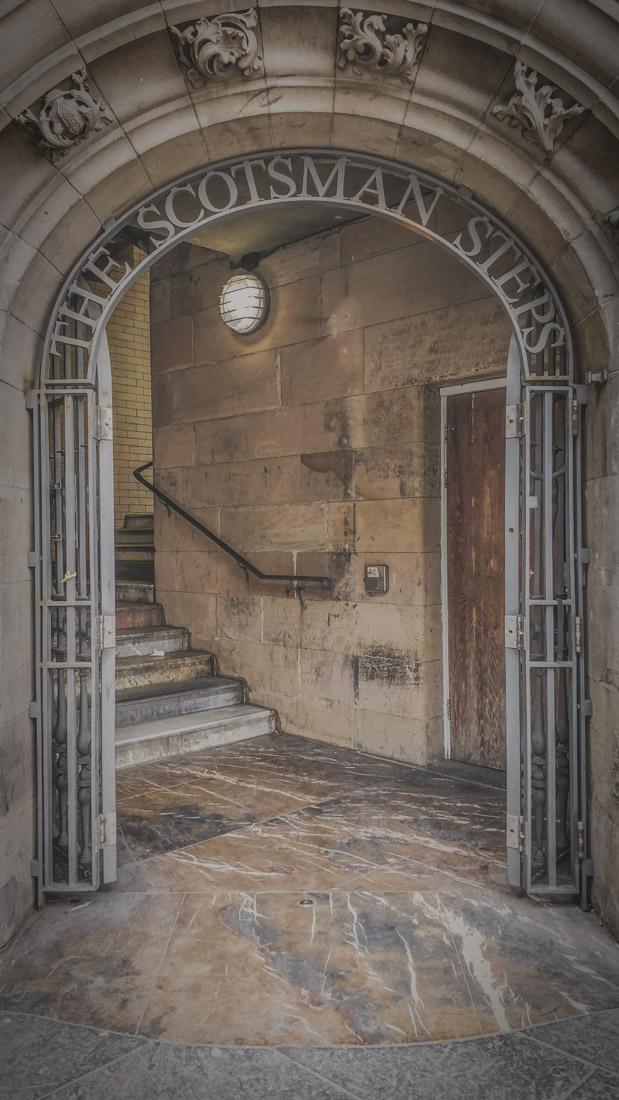 The Scotsman Steps Edinburgh