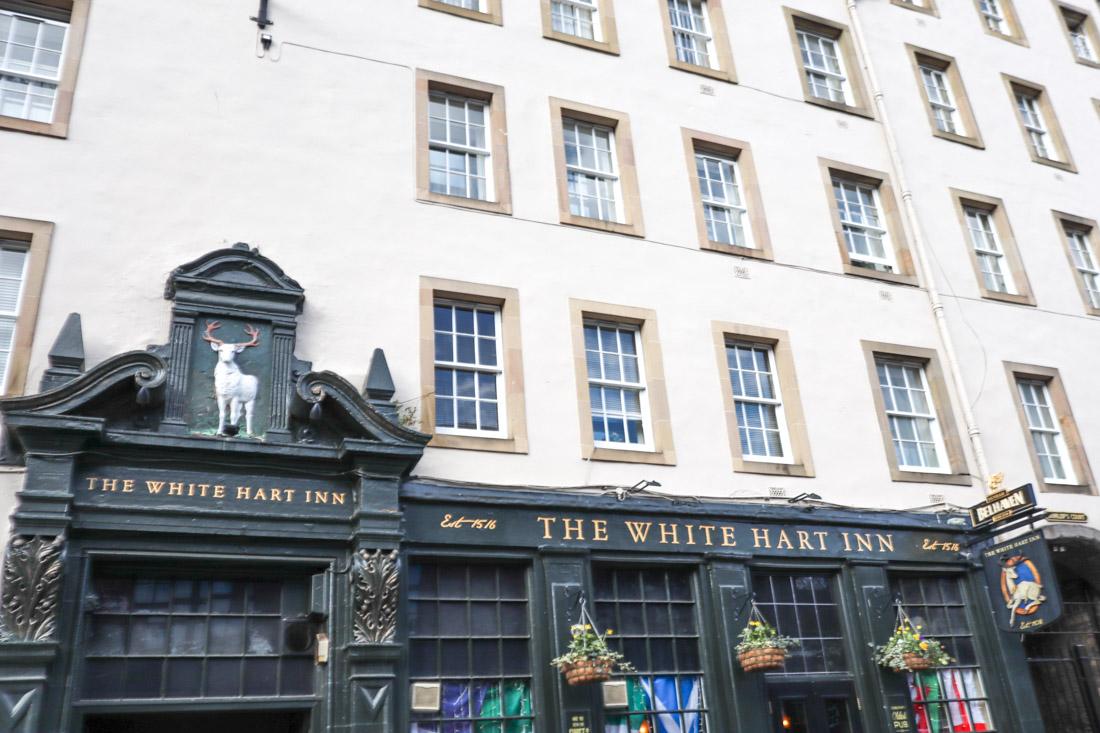 The White Heart Inn Grassmarket Pub Edinburgh_