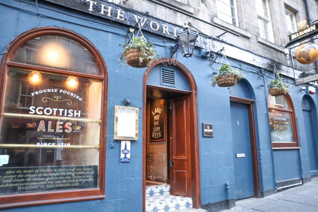 The Worlds End Royal Mile Old Town Edinburgh Pub