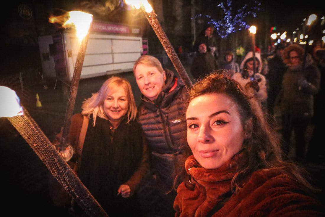 Torchlight Procession Royal Mile Edinburgh Festival