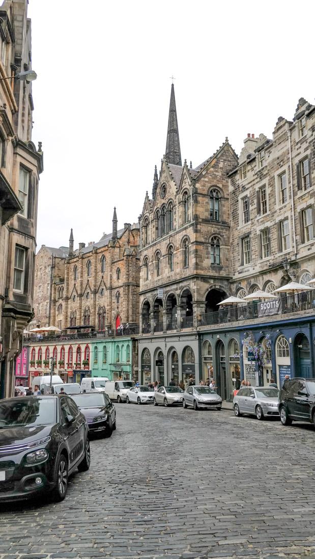 Victoria Street Cars Edinburgh