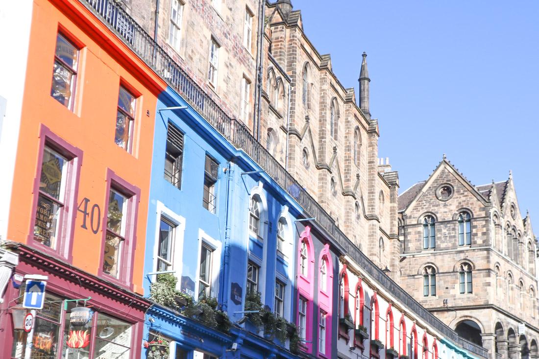 Victoria Terrace West Bow Edinburgh_