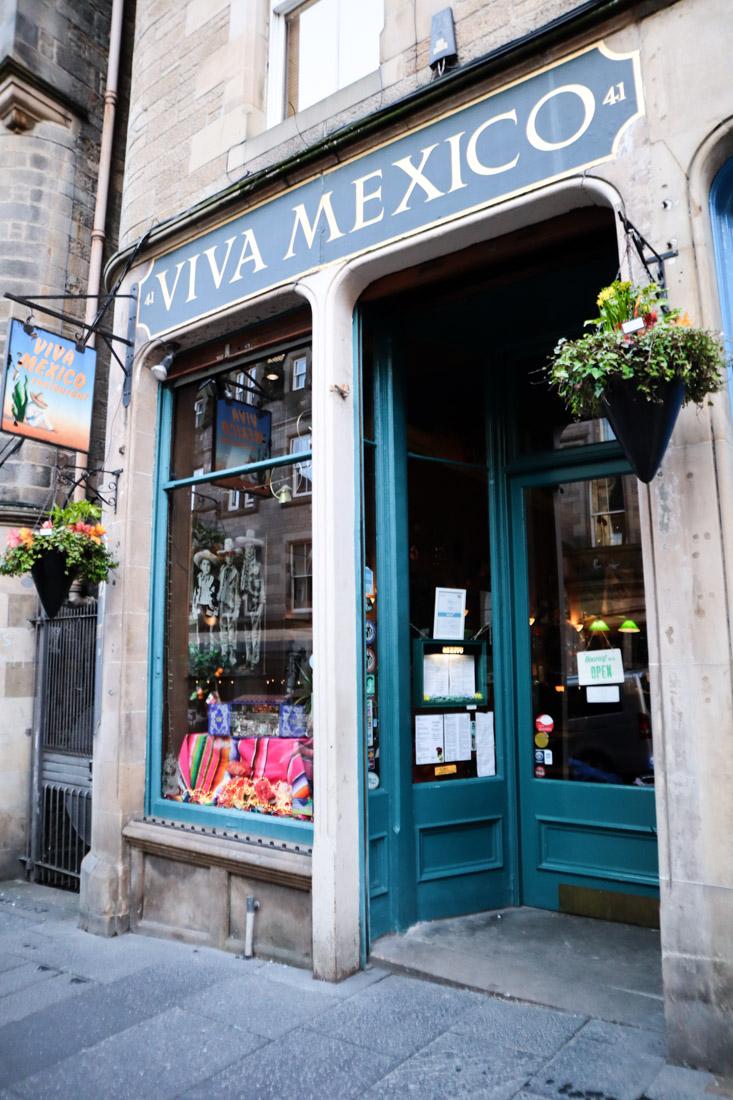 Viva Mexico Cockburn Street Food Edinburgh_