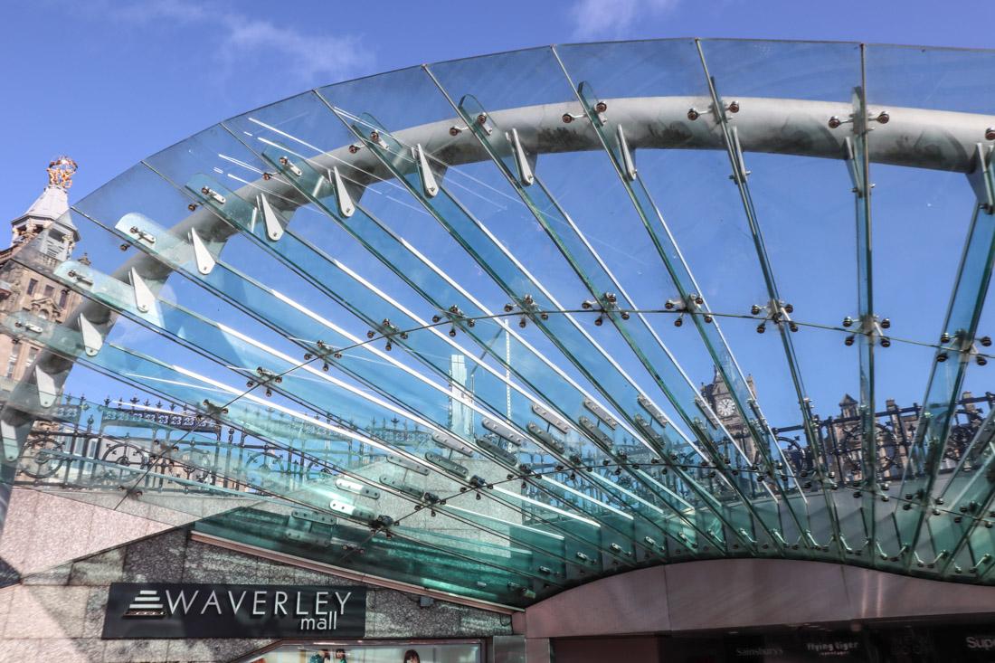 Waverley Mall Edinburgh Shopping
