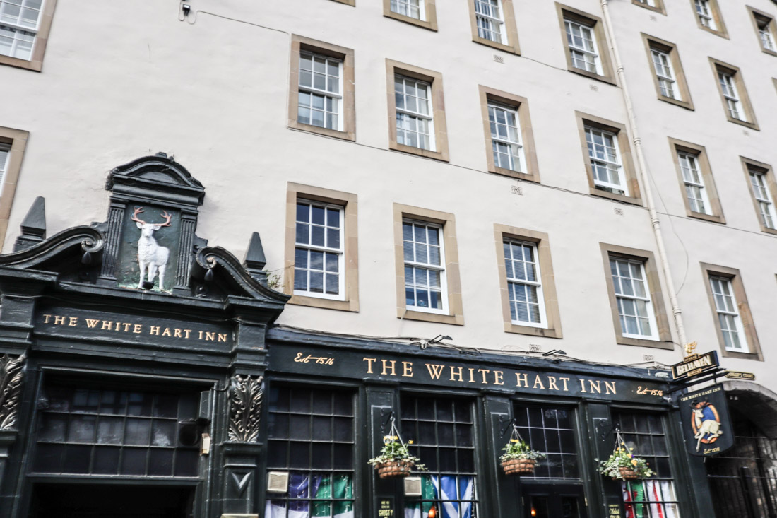 White Heart Inn Grassmarket Edinburgh Pub