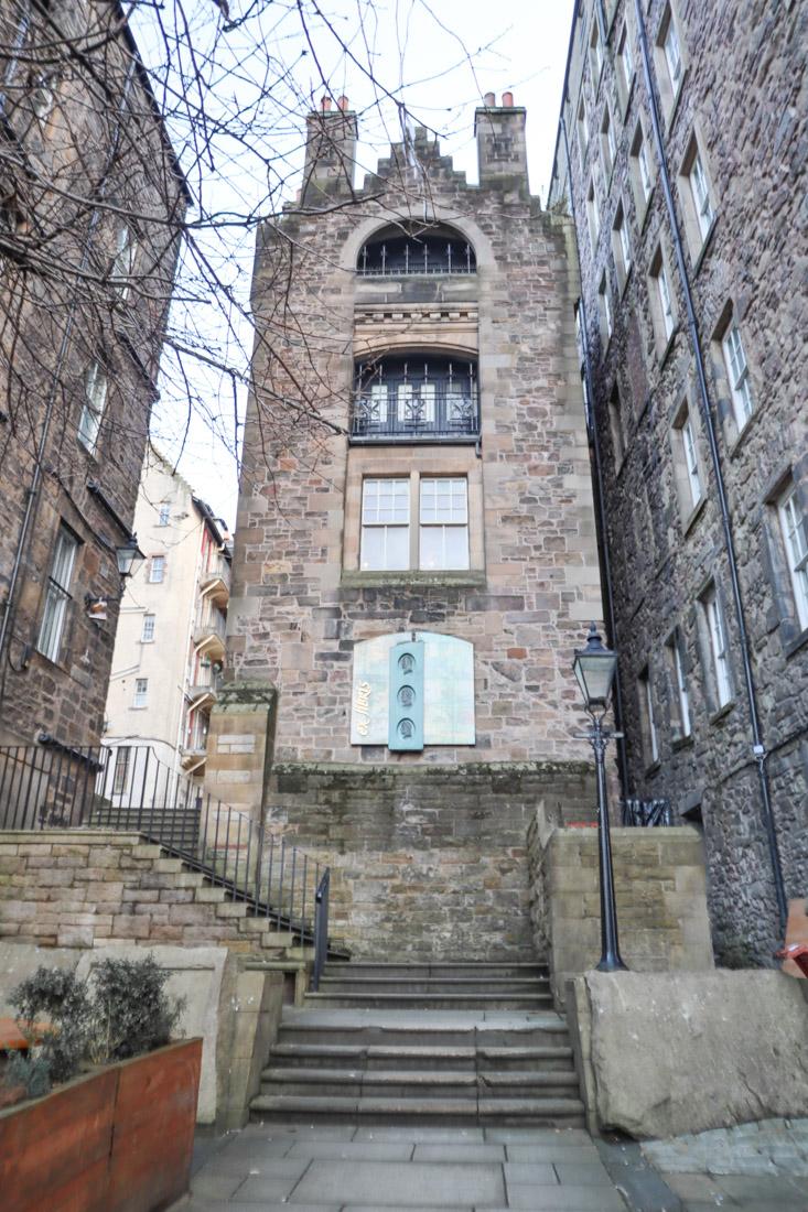 Writers Museum Edinburgh Old Town