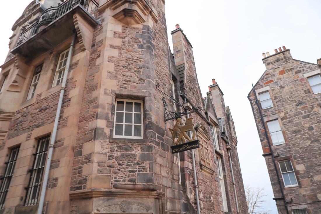 Writers Museum in Edinburgh
