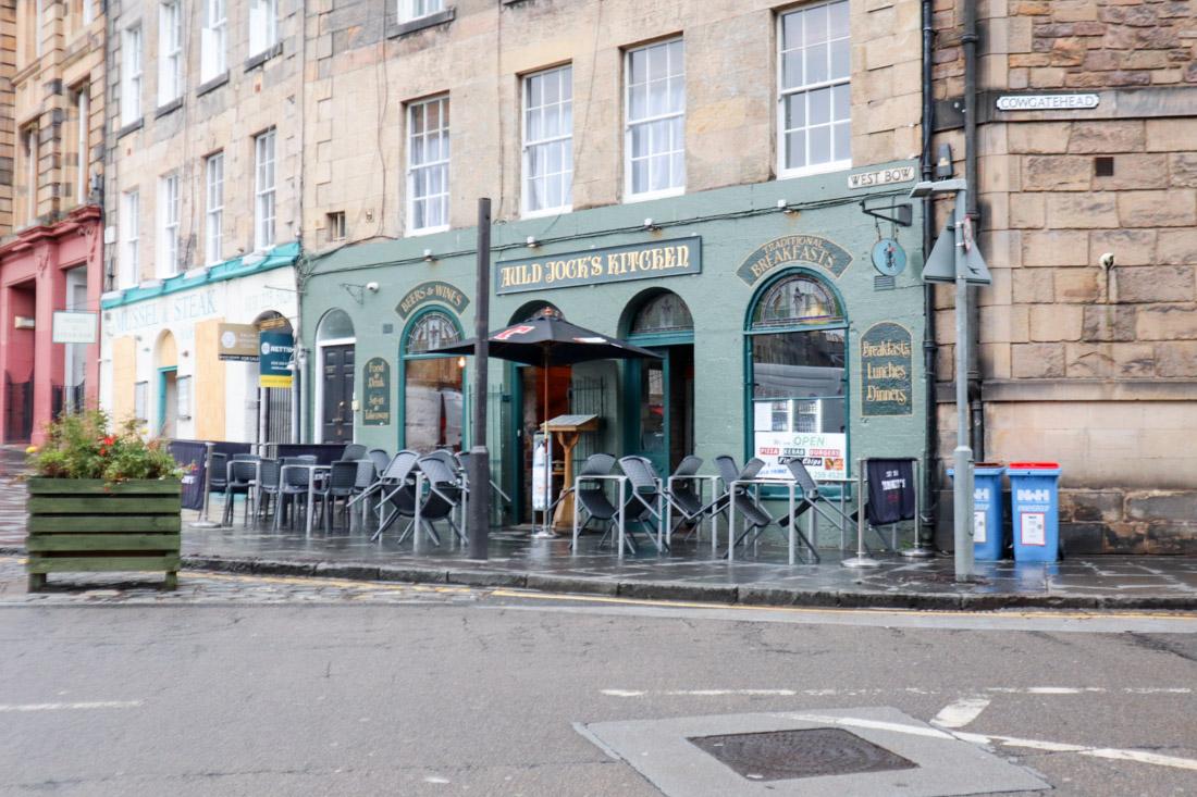 Auld Jocks Kitchen Pub Food Grassmarket Edinburgh