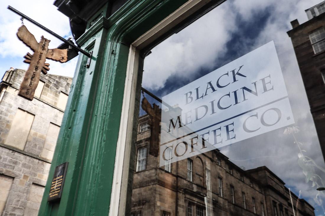 Black Medicine Food Harry Potter Edinburgh