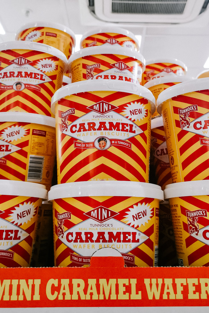 Caramel Wafers Biscuits Scotland_