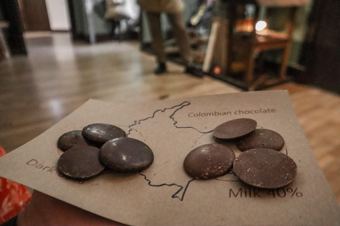 Chocolate at The Chocolatarium Activities Tours on Royal Mile Edinburgh