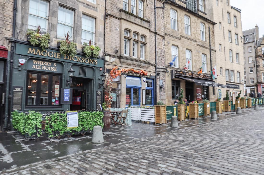 Grassmarket Food Pub Edinburgh