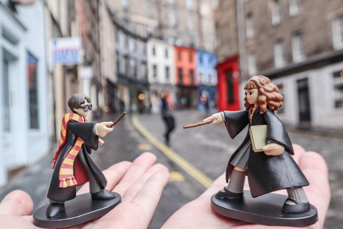 Harry Potter Hermione Figure Victoria Street Edinburgh